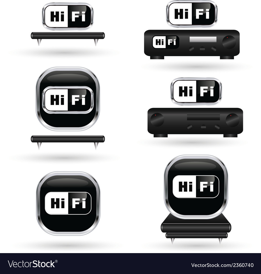 Hifi 03 vector | Price: 1 Credit (USD $1)