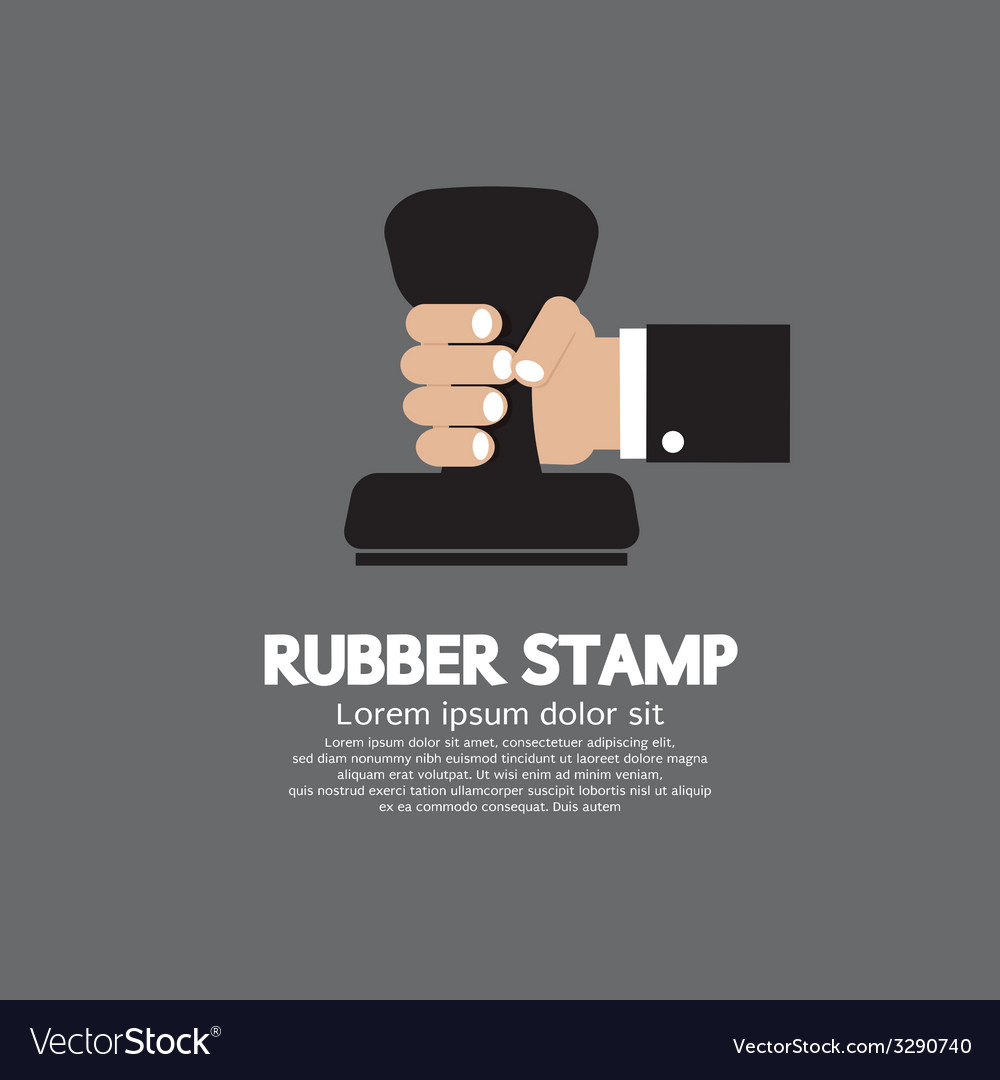 Rubber stamp tool vector | Price: 1 Credit (USD $1)