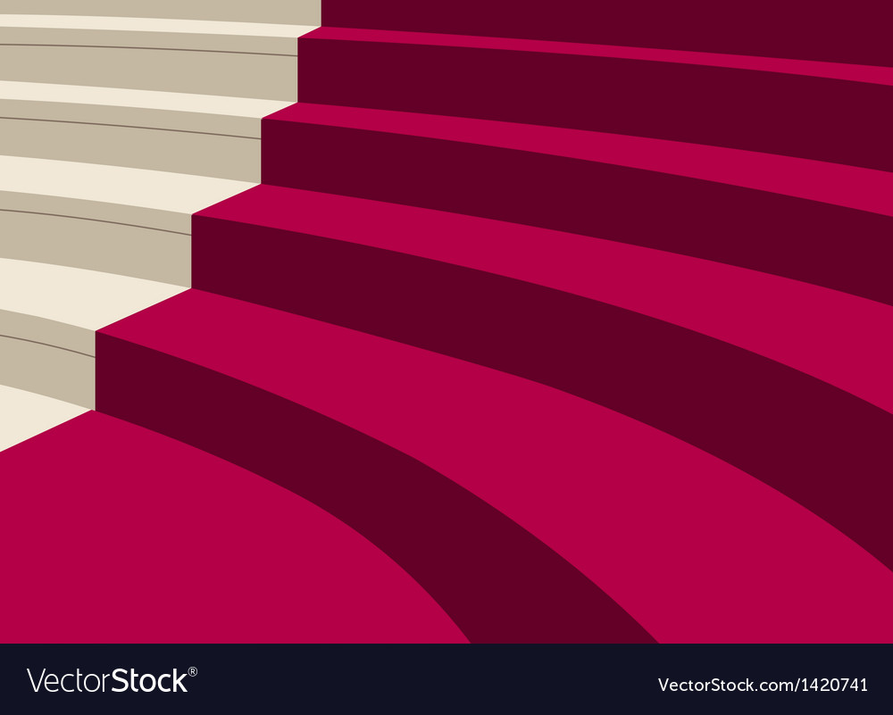 Elegant staircase background vector | Price: 1 Credit (USD $1)