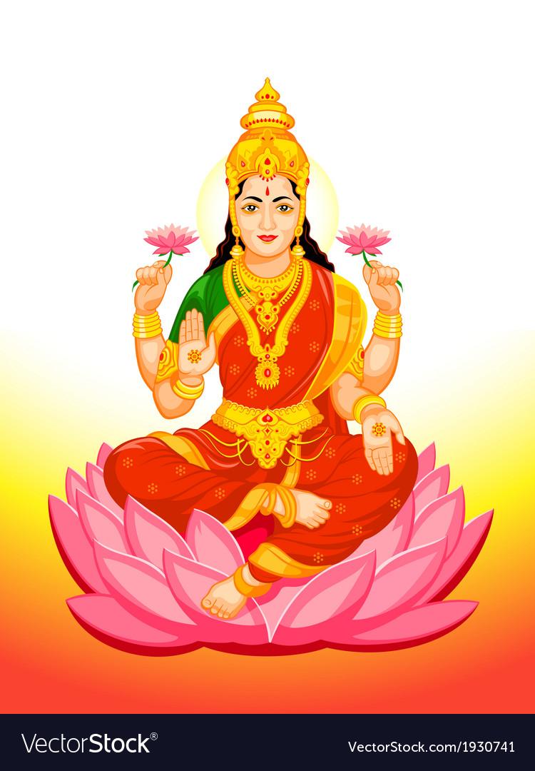 Goddess lakshmi vector | Price: 3 Credit (USD $3)