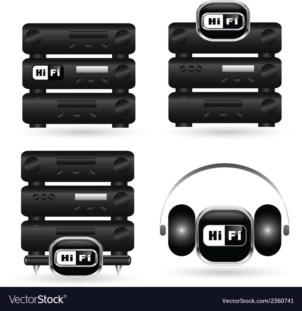 Hifi 04 vector | Price: 1 Credit (USD $1)