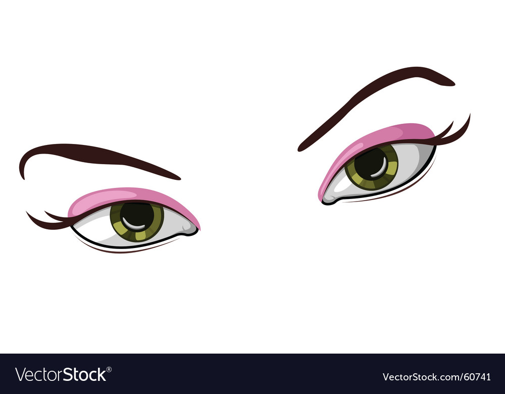 Illustration of beautiful eyes vector   Price: 1 Credit (USD $1)