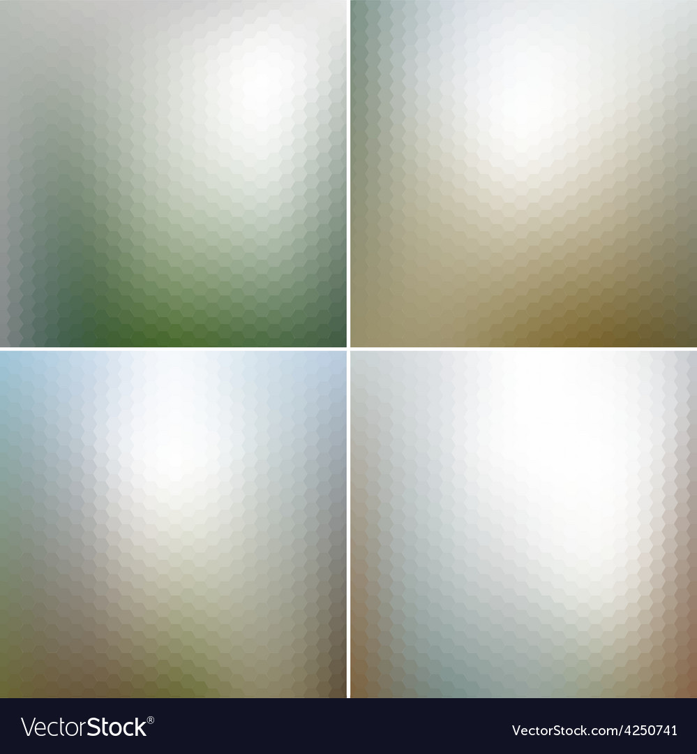 Web and mobile interface templates blurred vector | Price: 1 Credit (USD $1)
