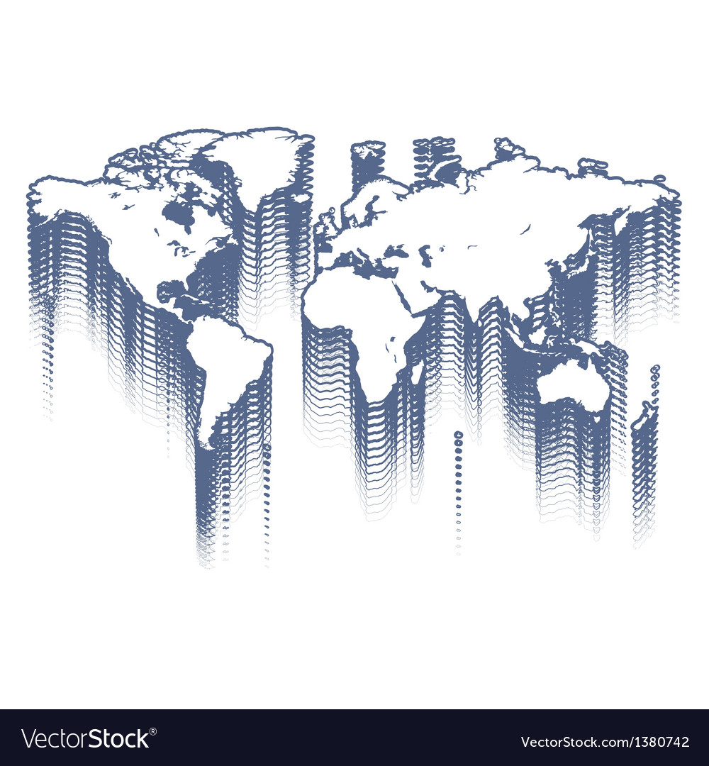 Abstract world vector | Price: 1 Credit (USD $1)