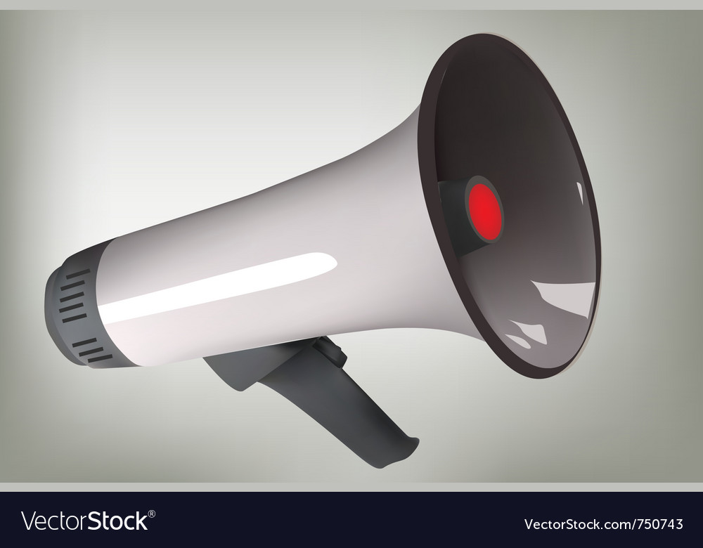 Loudspeaker vector   Price: 1 Credit (USD $1)