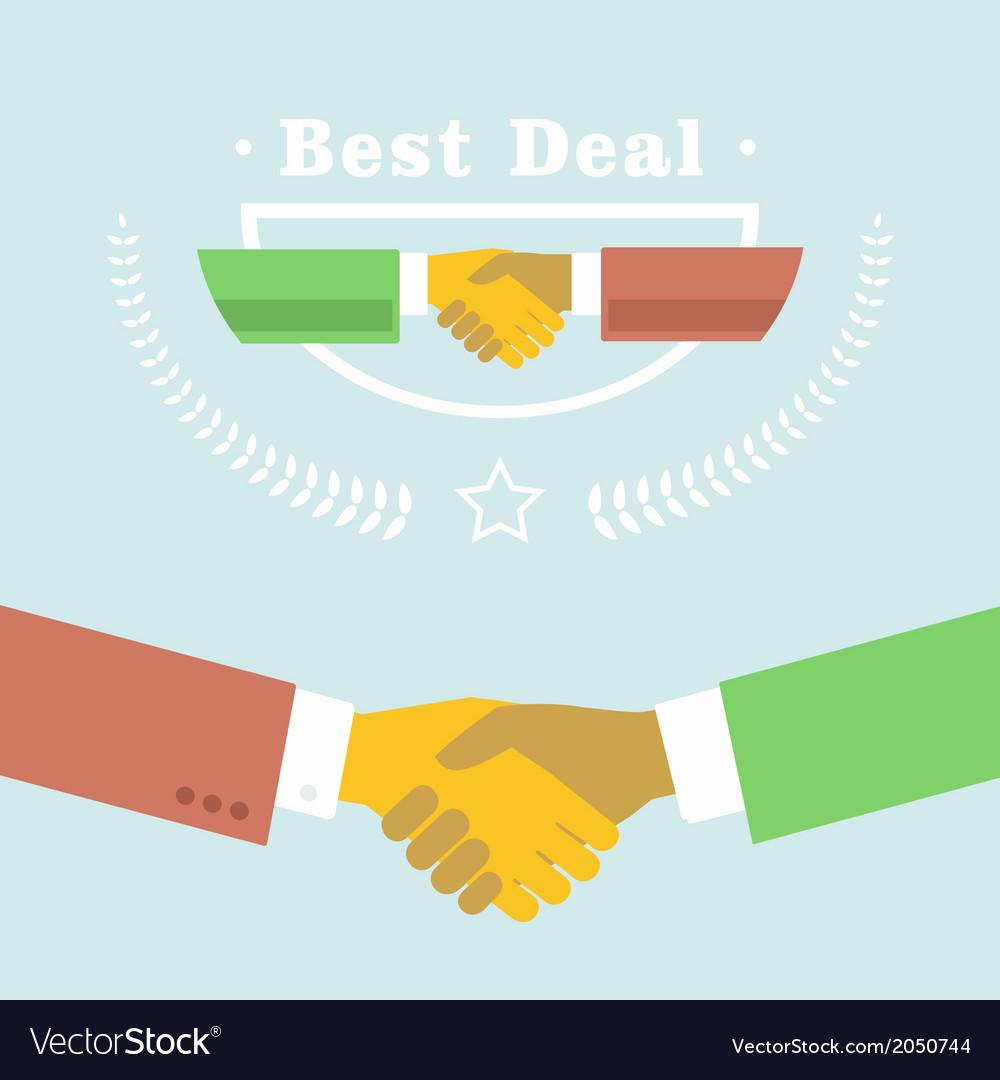 Best deal vector | Price: 1 Credit (USD $1)