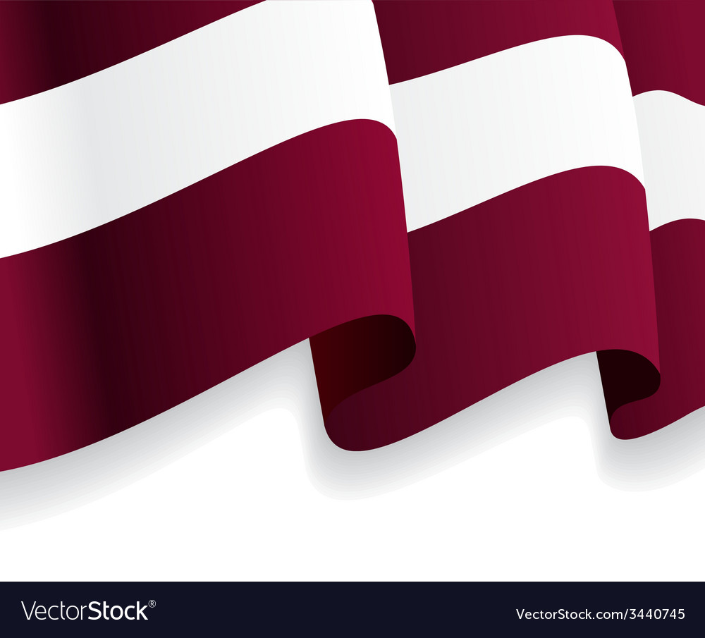 Background with waving latvian flag vector   Price: 1 Credit (USD $1)