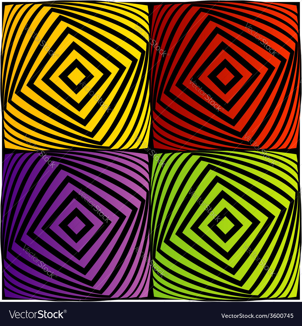 Colorful optical vector | Price: 1 Credit (USD $1)
