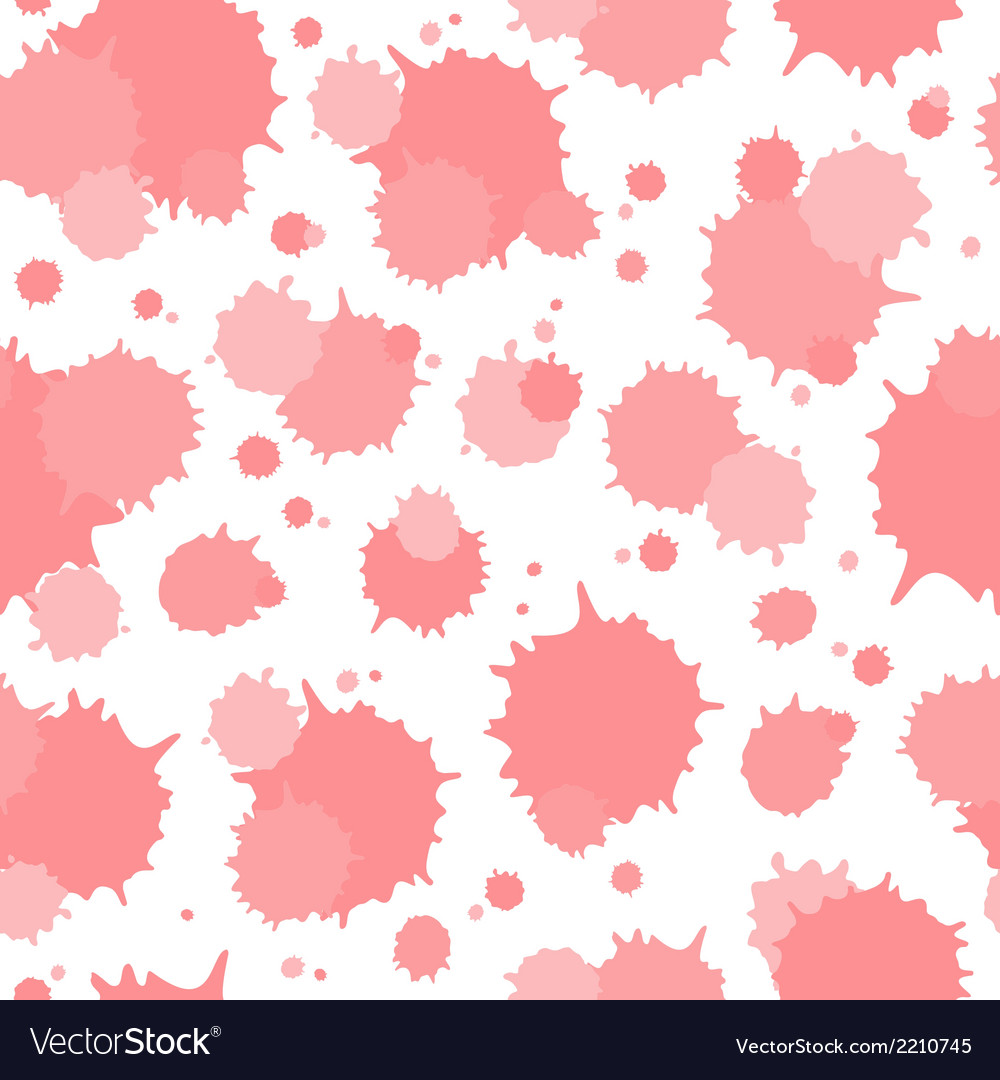 Seamless pattern of blots vector | Price: 1 Credit (USD $1)