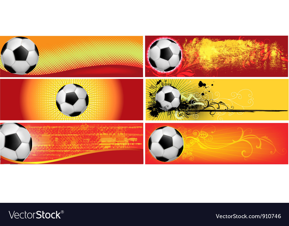 Football backgrounds vector | Price: 3 Credit (USD $3)