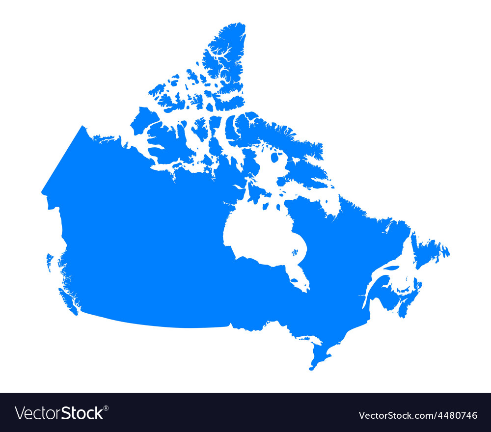 Map of canada vector   Price: 1 Credit (USD $1)