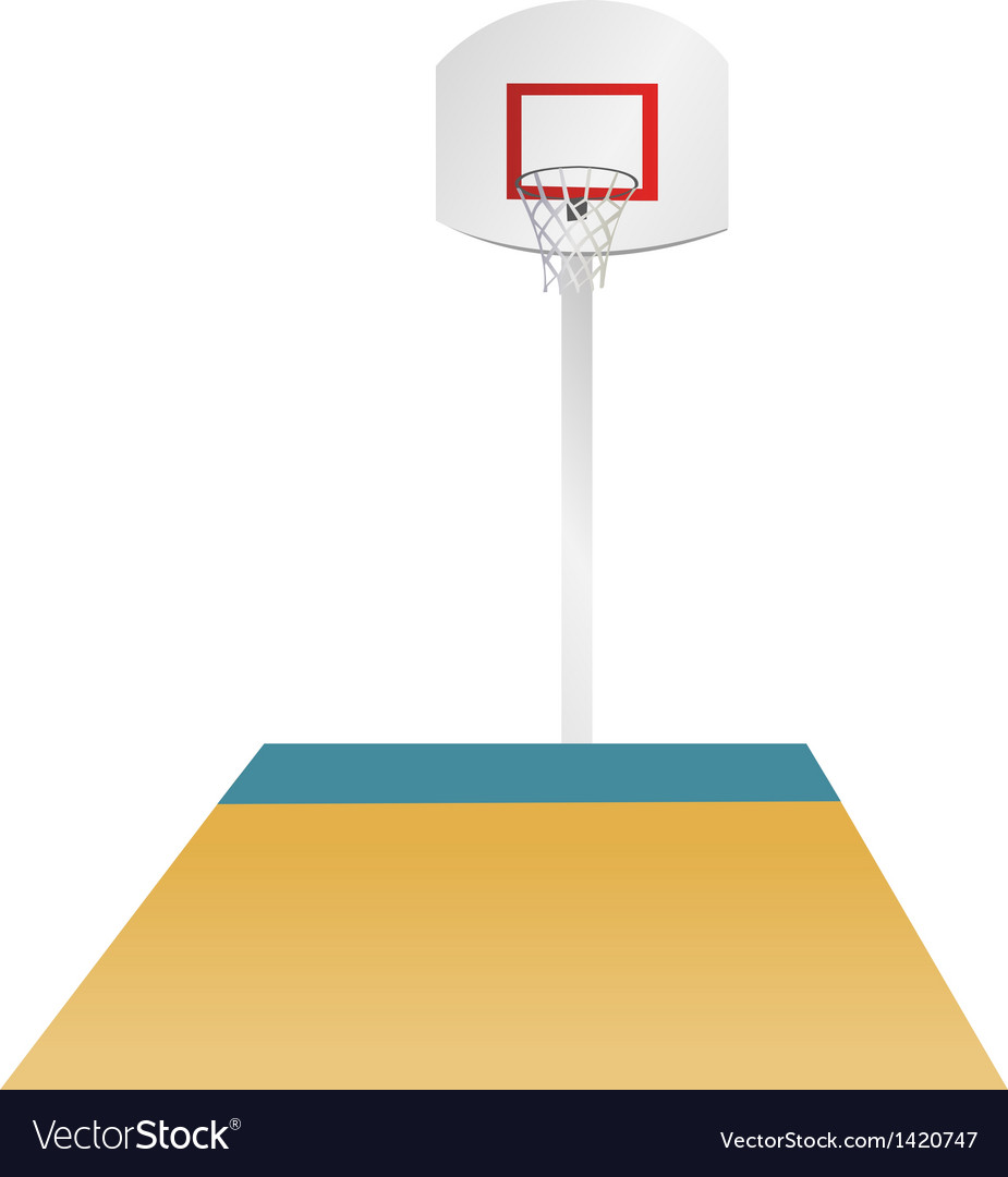 Basketball area vector | Price: 1 Credit (USD $1)