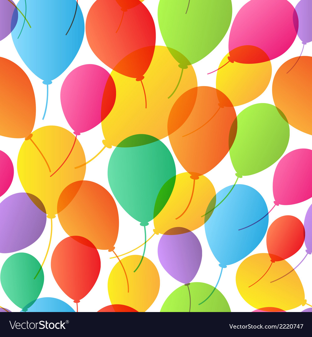 Find similar imagesseamless pattern balloons vector | Price: 1 Credit (USD $1)