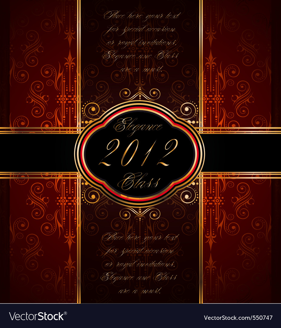 Invitation flayer vector | Price: 1 Credit (USD $1)