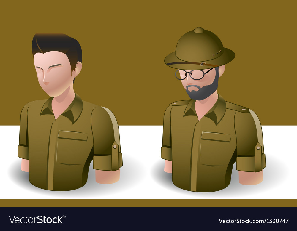 People icons men vector   Price: 3 Credit (USD $3)