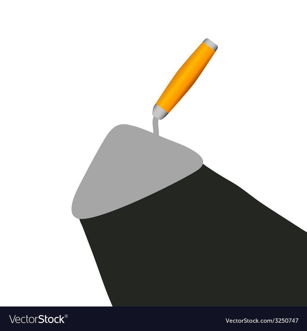 Trowel vector | Price: 1 Credit (USD $1)