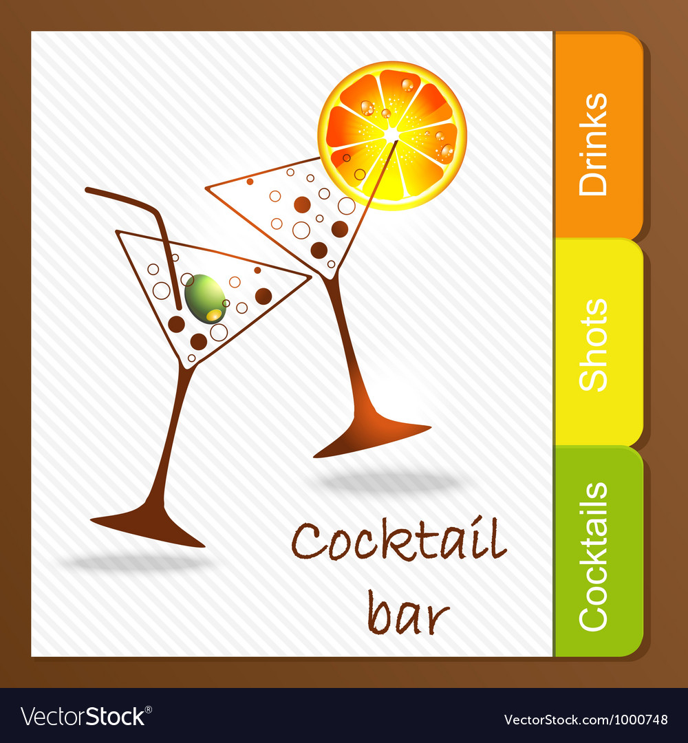 Alcohol bar vector | Price: 1 Credit (USD $1)
