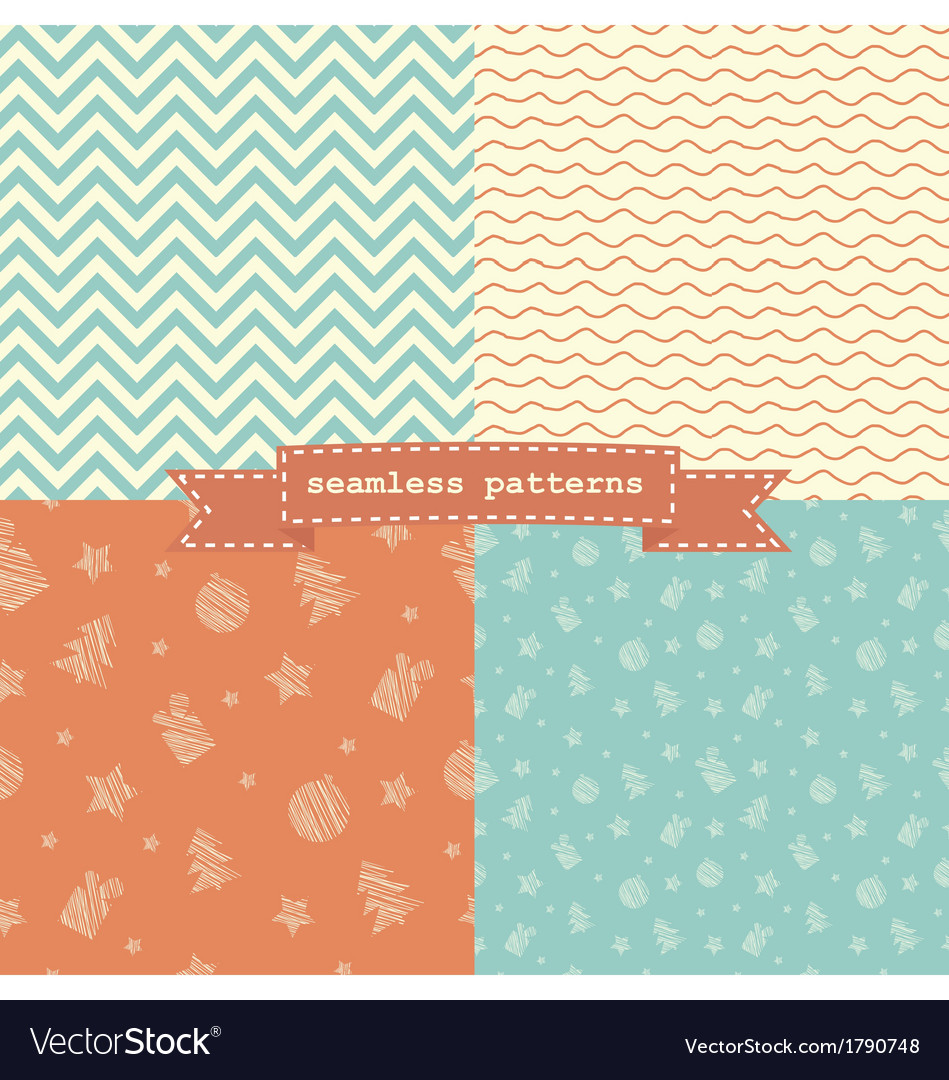 Christmas patterns vector   Price: 1 Credit (USD $1)