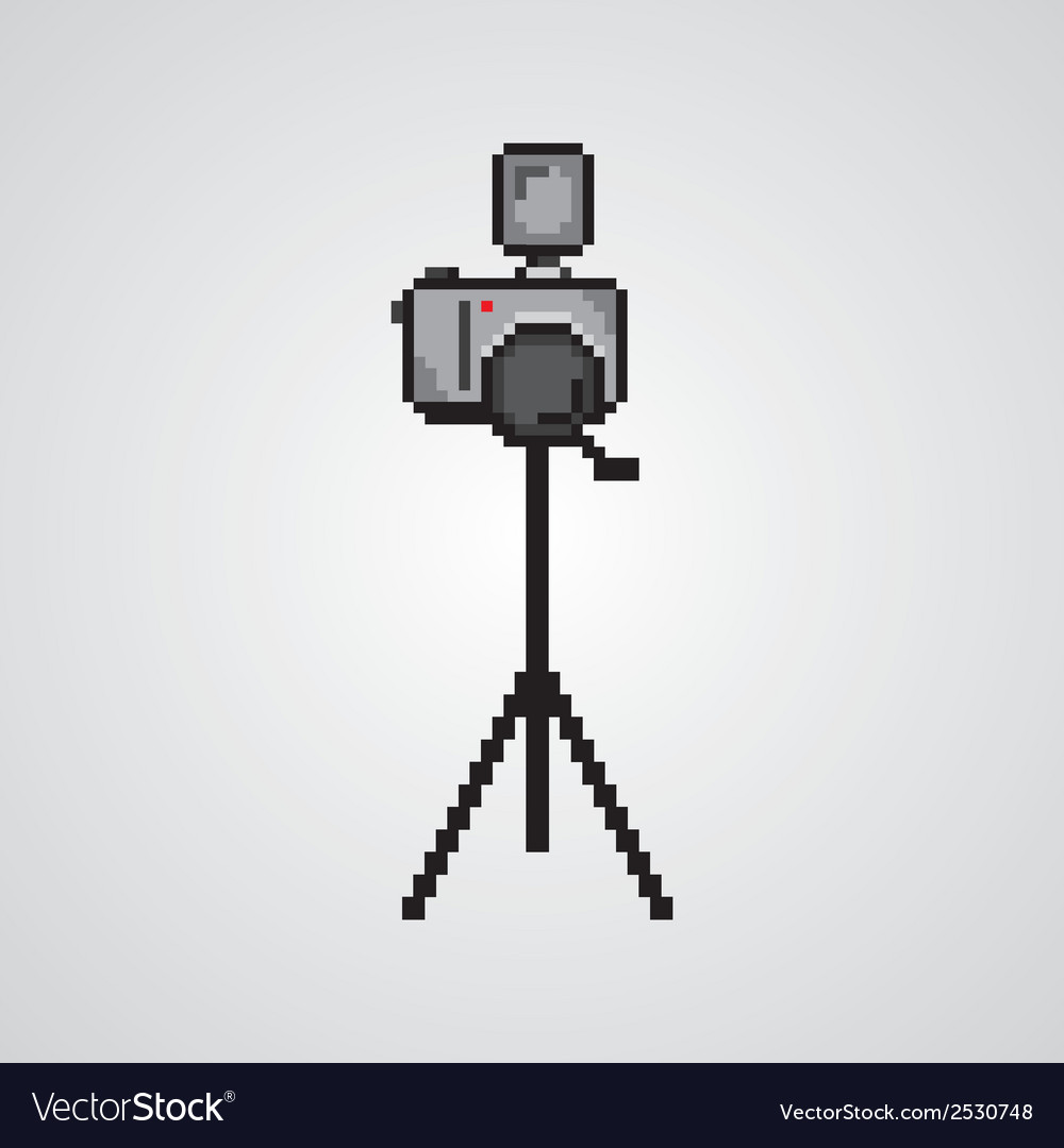 Pixelated technology icons vector | Price: 1 Credit (USD $1)