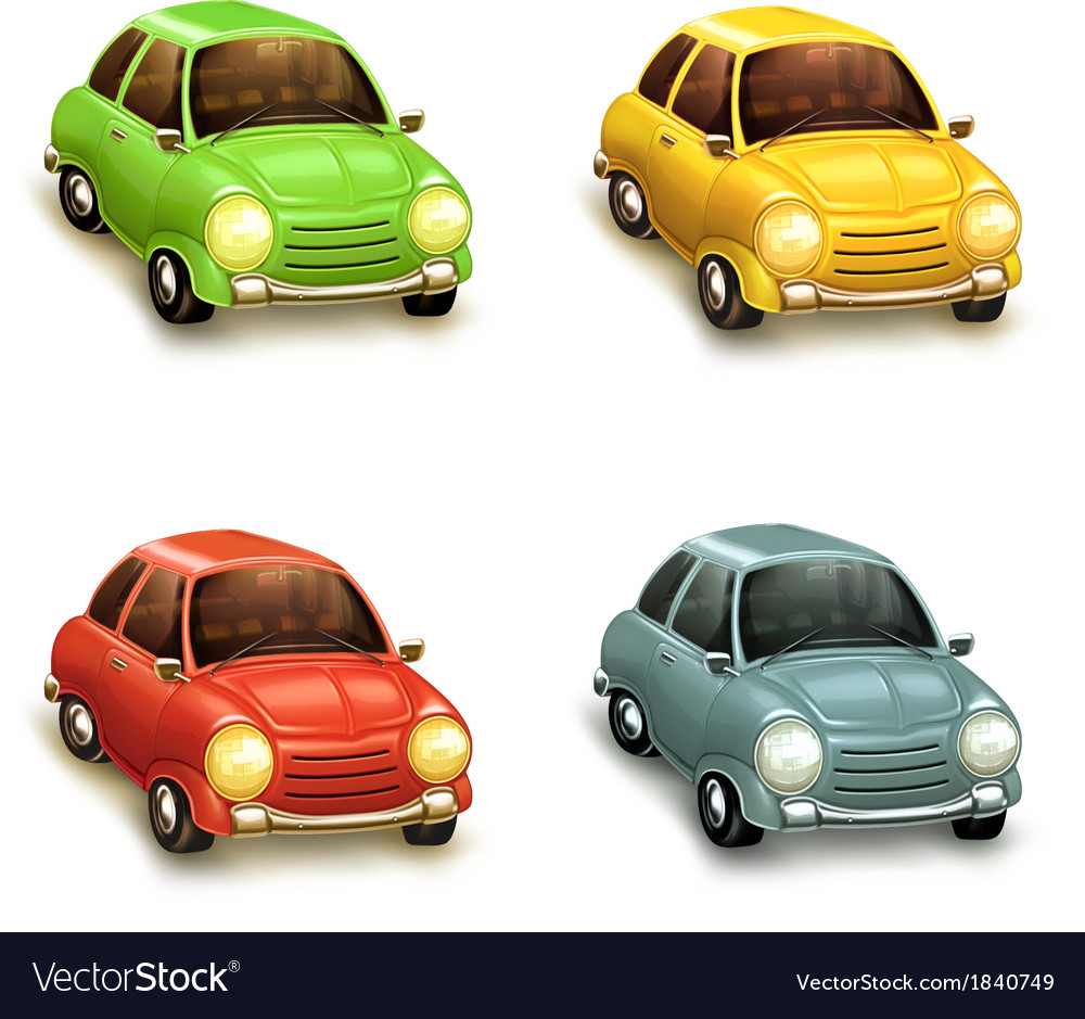 Cars icons set vector | Price: 3 Credit (USD $3)