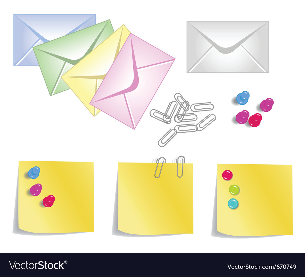 Stationery products vector | Price: 1 Credit (USD $1)