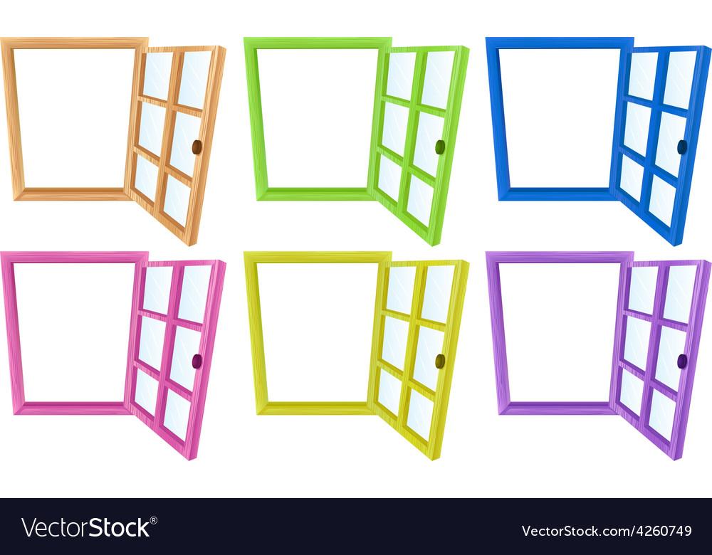 Window frames vector | Price: 1 Credit (USD $1)