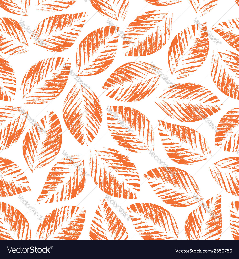 Seamless texture of leaves vector   Price: 1 Credit (USD $1)