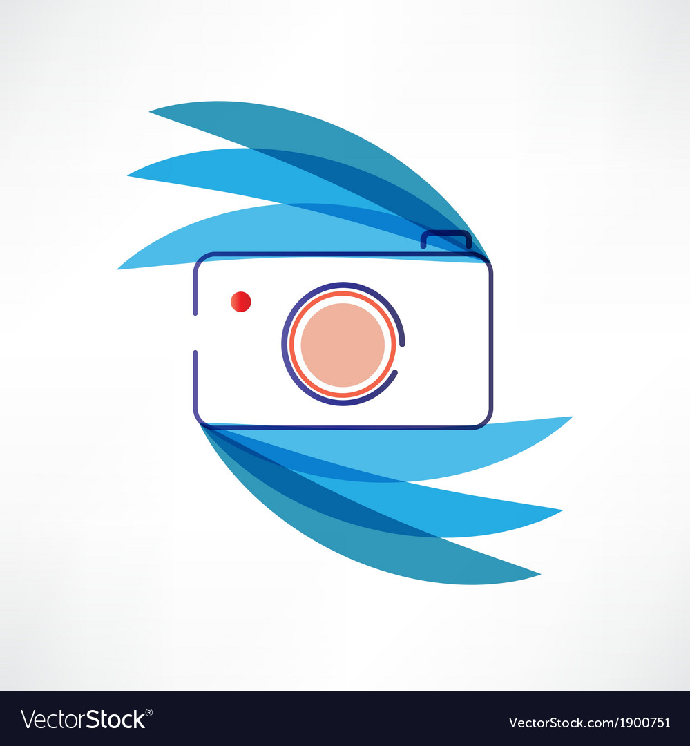 Digital cam icon vector | Price: 1 Credit (USD $1)