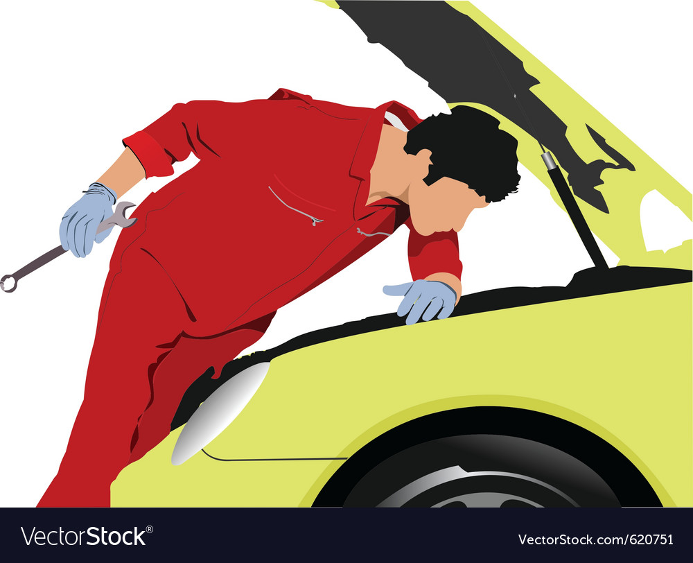 Mechanic vector | Price: 1 Credit (USD $1)