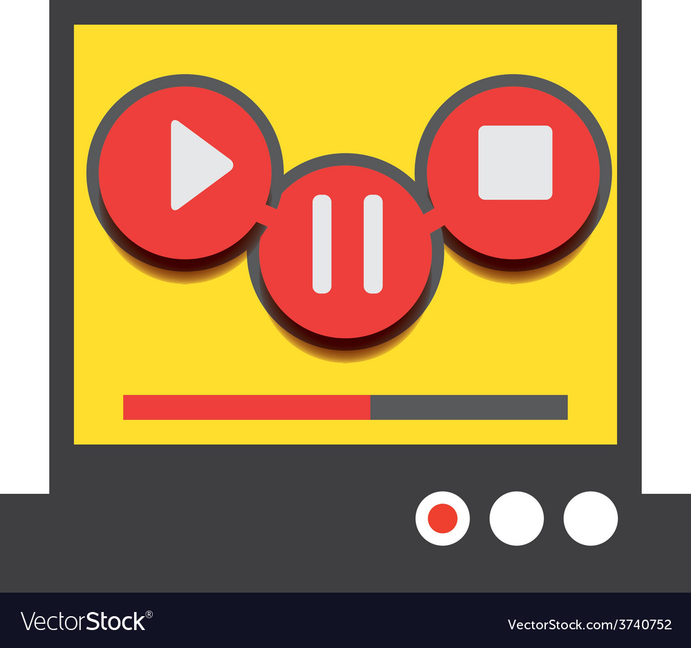 Music player 49 vector | Price: 1 Credit (USD $1)