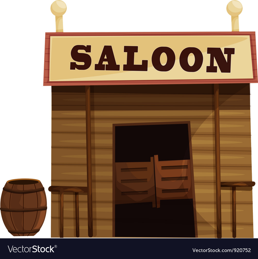 Saloon vector | Price: 3 Credit (USD $3)