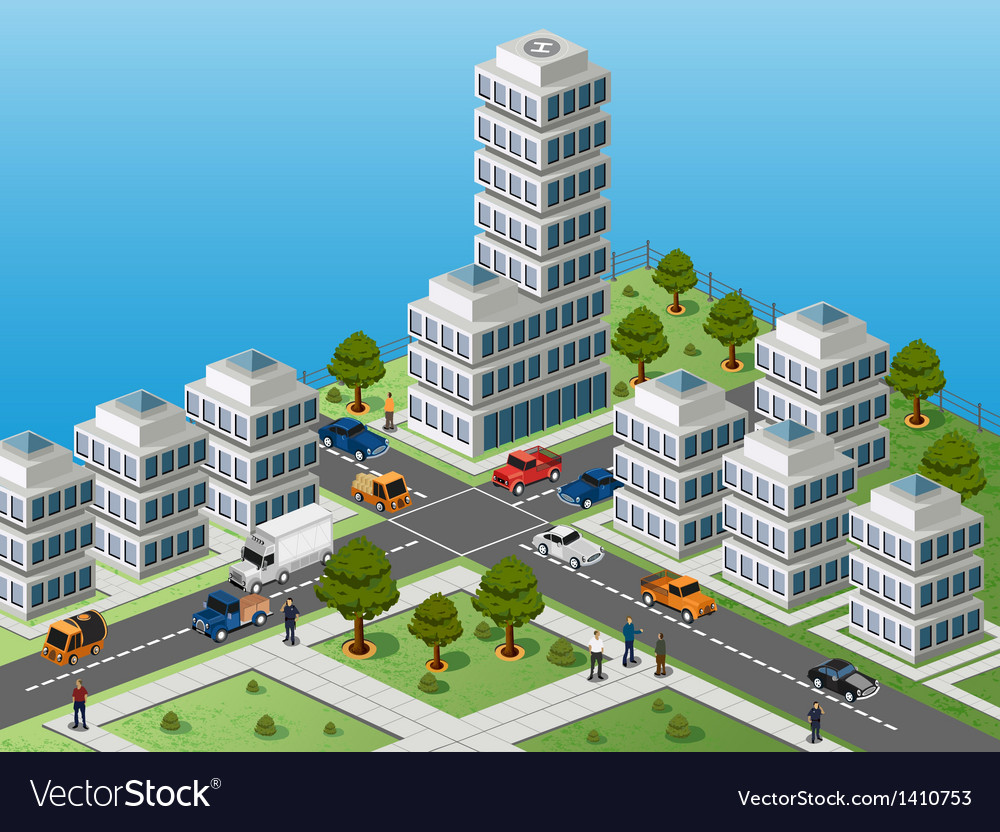 A fragment of the city vector | Price: 1 Credit (USD $1)