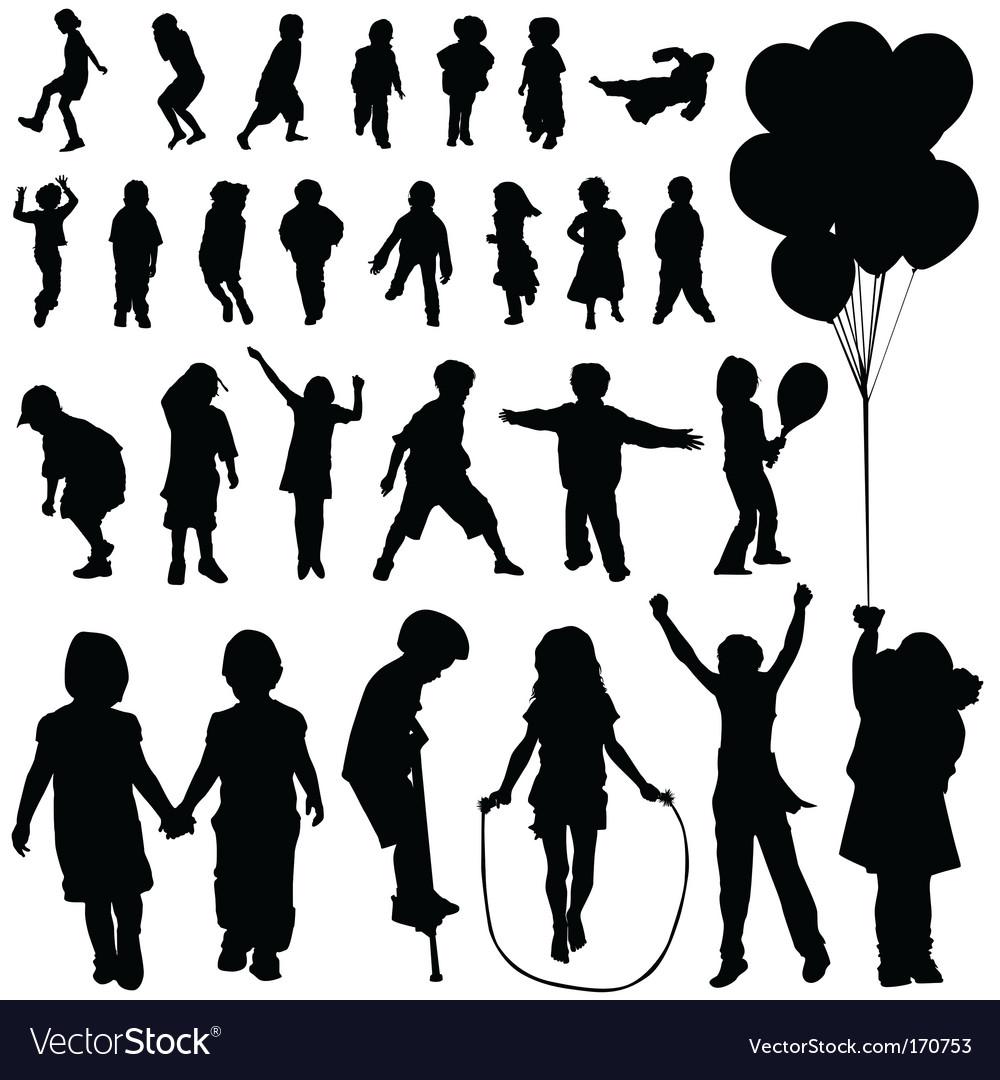 Children set vector | Price: 1 Credit (USD $1)