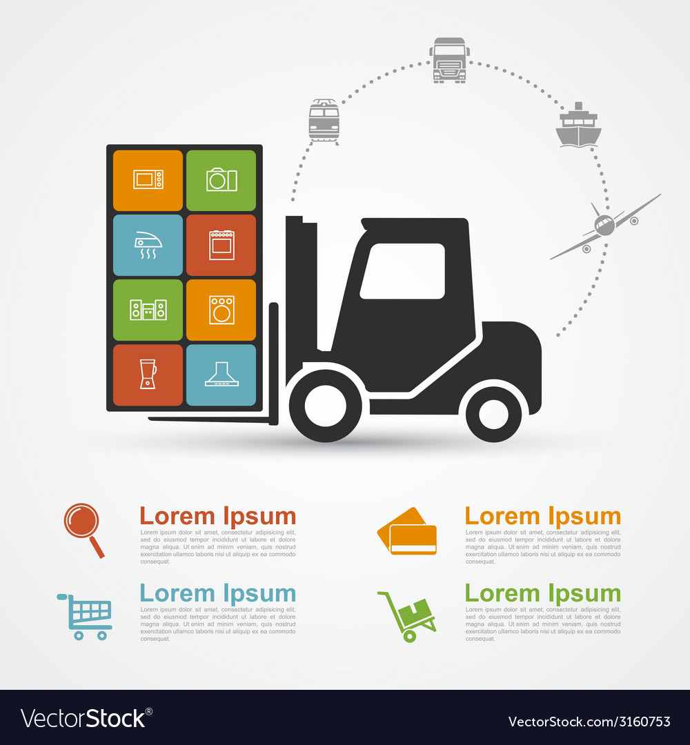 E commerce infographic 2 vector | Price: 1 Credit (USD $1)