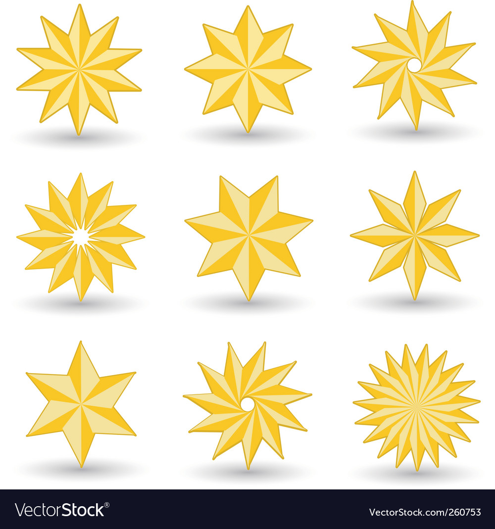 Star icons vector | Price: 3 Credit (USD $3)