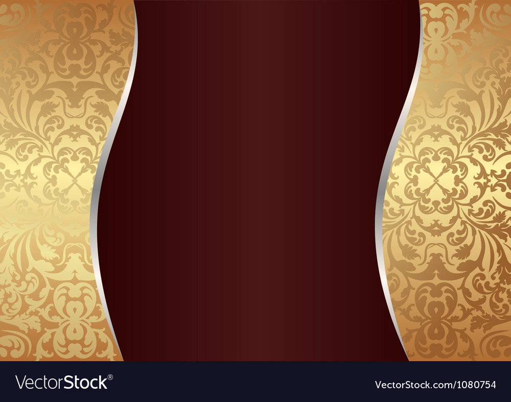 Claret and gold background vector | Price: 1 Credit (USD $1)