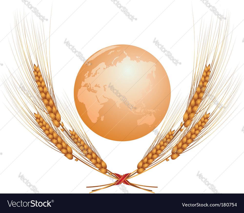 Eastern hemisphere vector | Price: 1 Credit (USD $1)