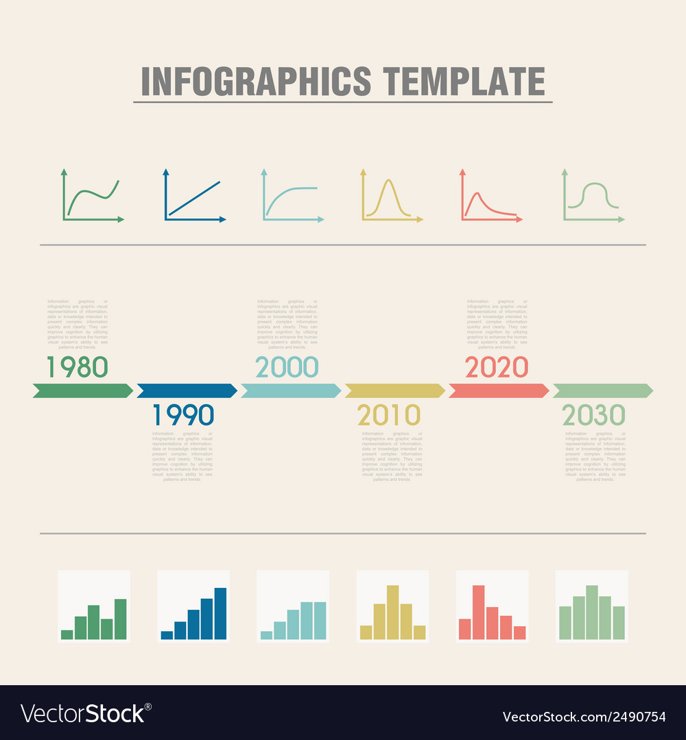 Infographic timeline vector | Price: 1 Credit (USD $1)