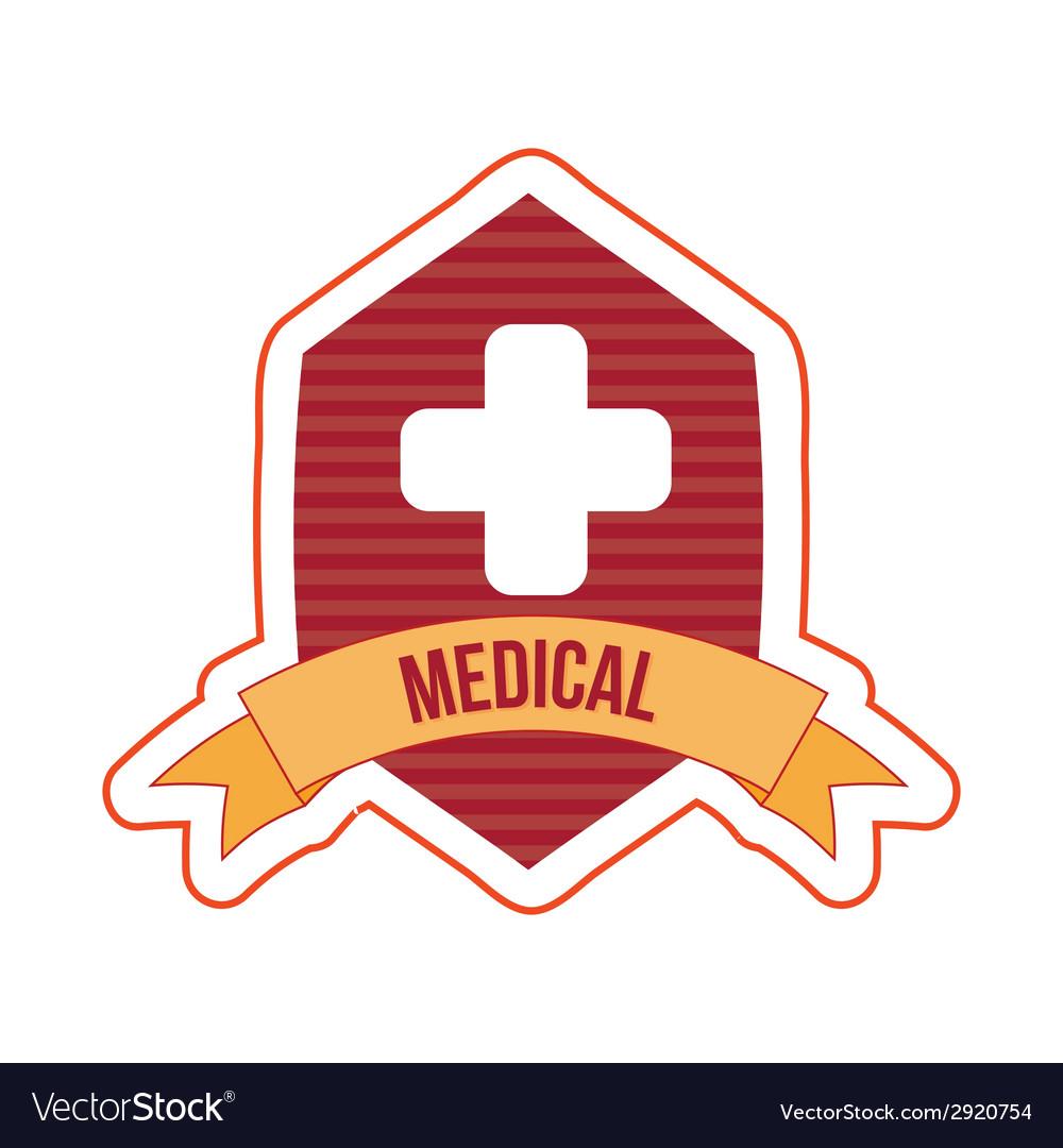 Medical icon design vector | Price: 1 Credit (USD $1)