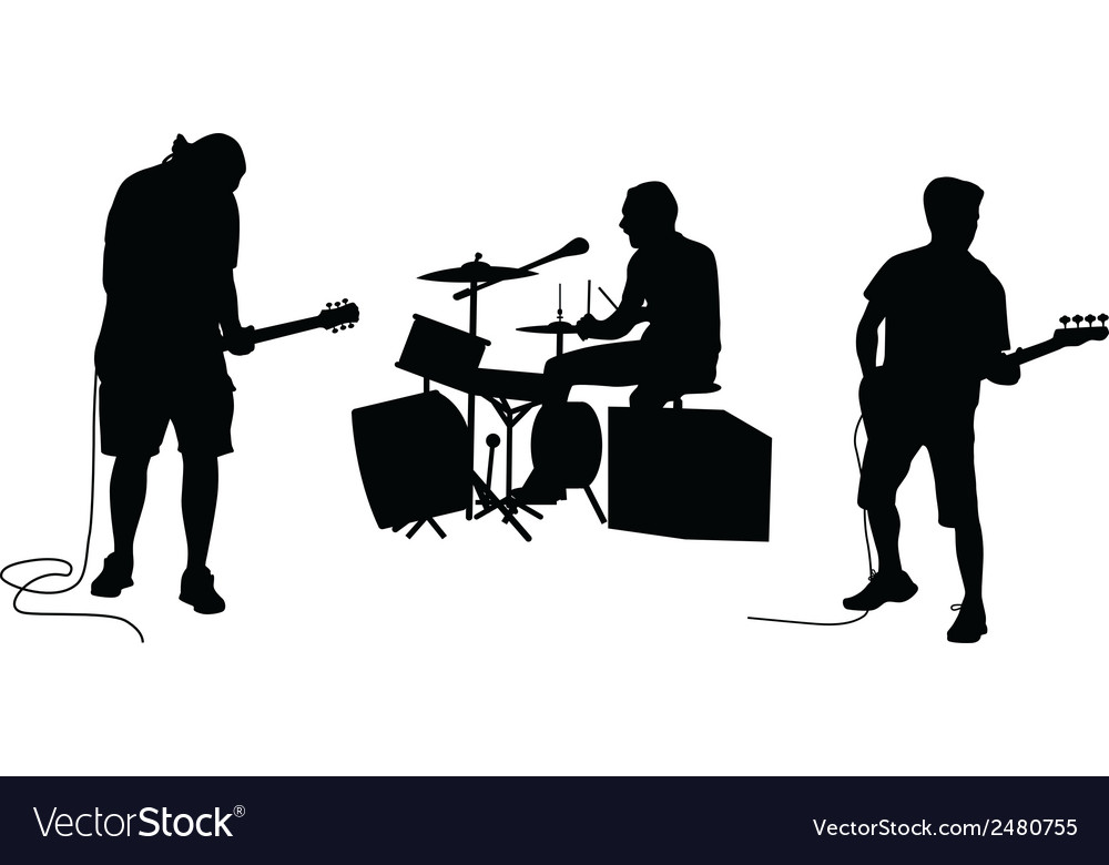 Music band vector | Price: 1 Credit (USD $1)