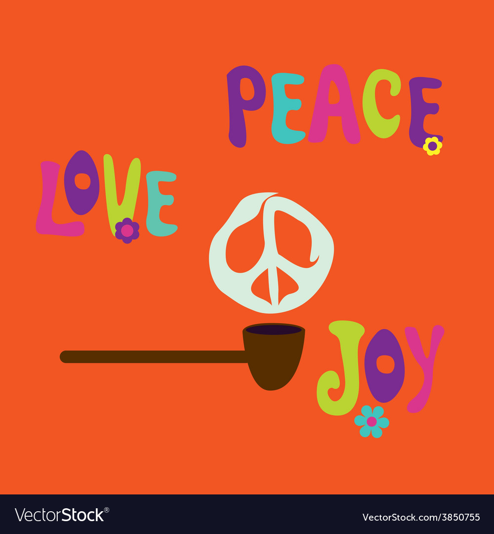 Pipe of peace vector | Price: 1 Credit (USD $1)