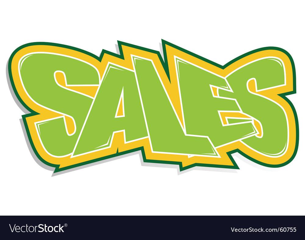 Sales sticker vector   Price: 1 Credit (USD $1)