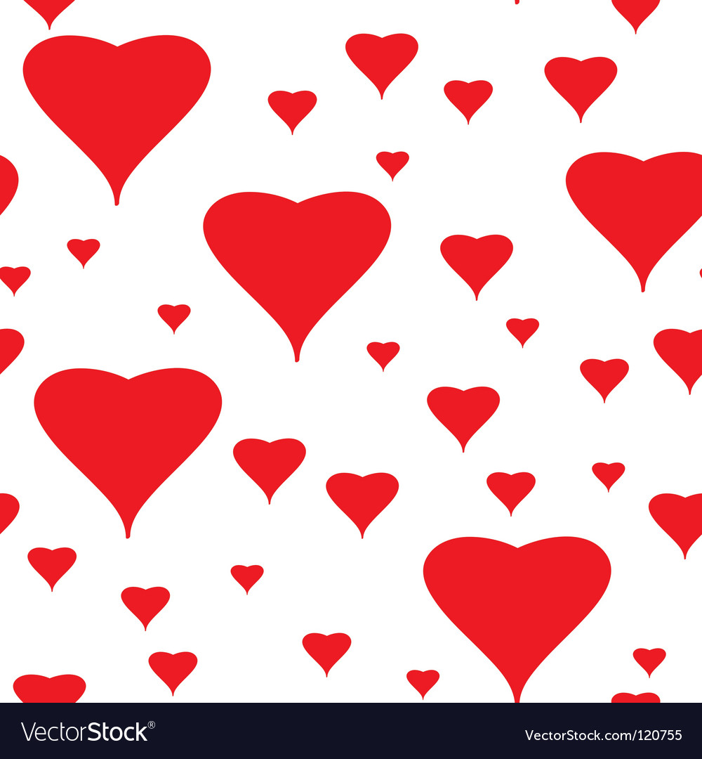 Valentines day abstract seamless background vector   Price: 1 Credit (USD $1)