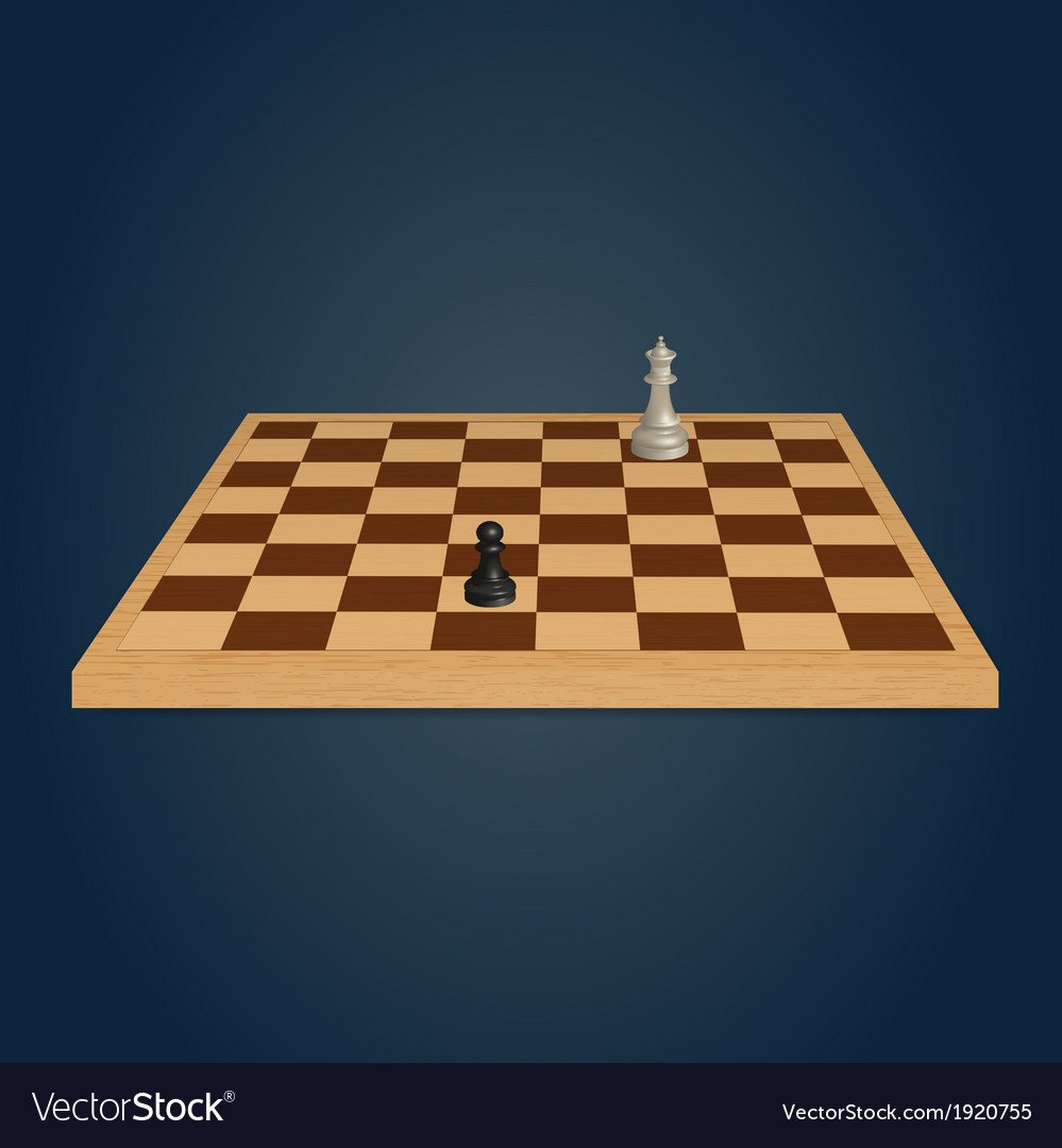 Wood chessboard vector | Price: 1 Credit (USD $1)