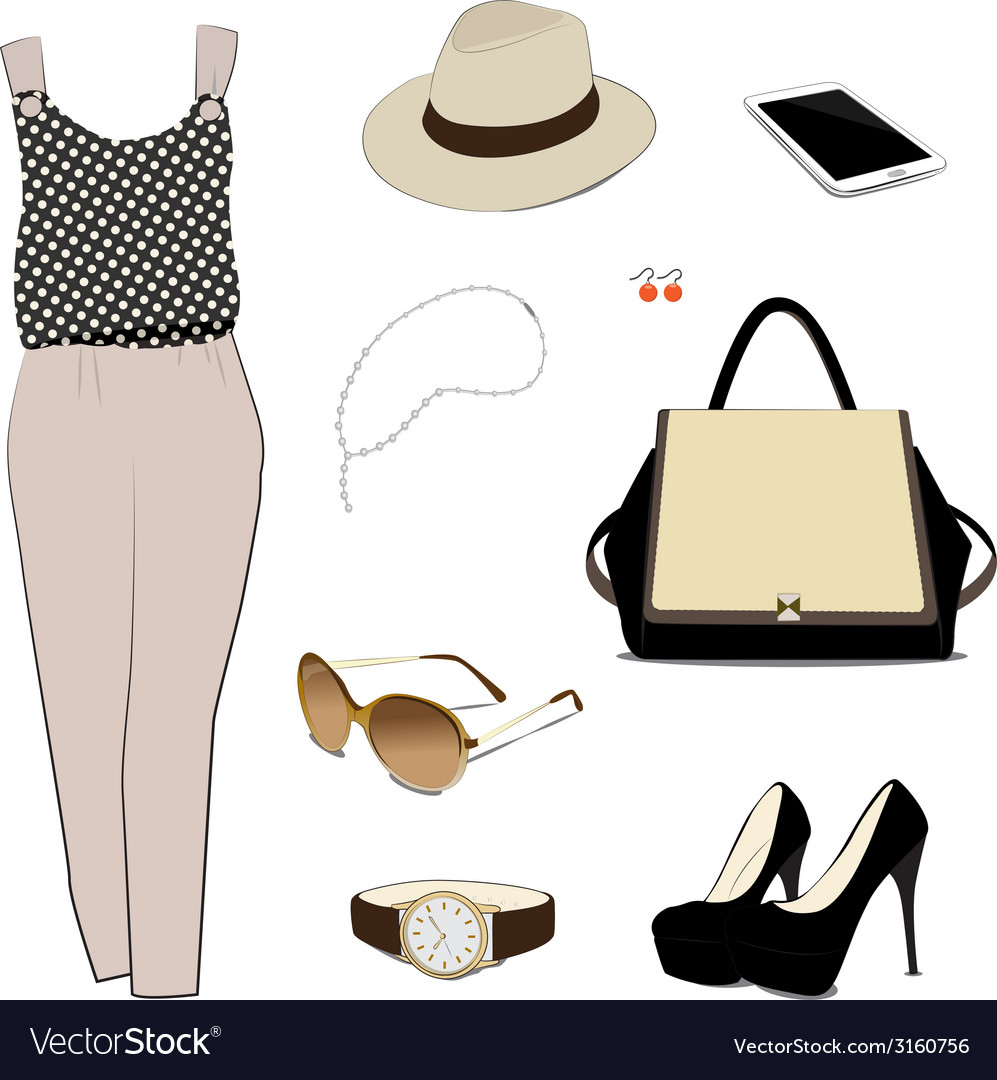 Costume for women vector | Price: 1 Credit (USD $1)