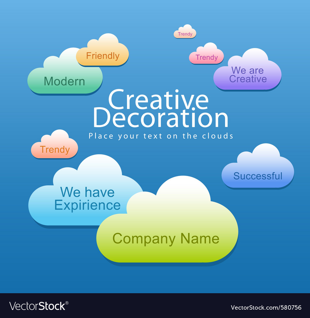 Creative decoration vector | Price: 1 Credit (USD $1)