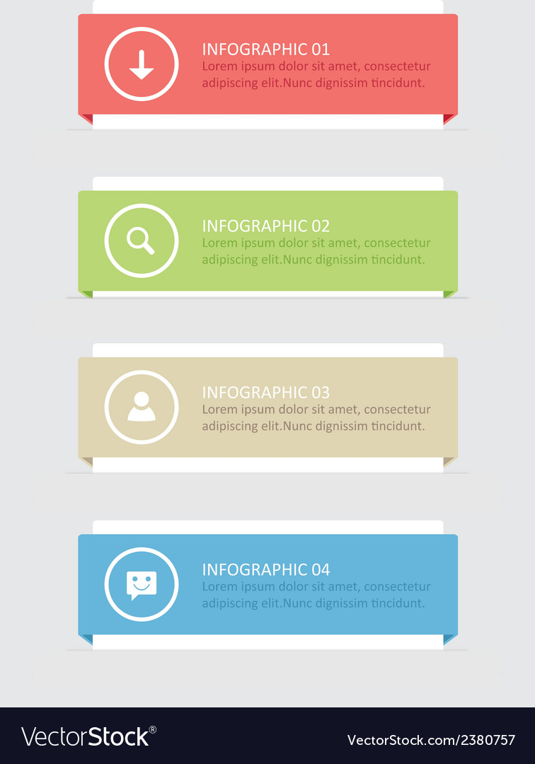 Banners infographic vector | Price: 1 Credit (USD $1)