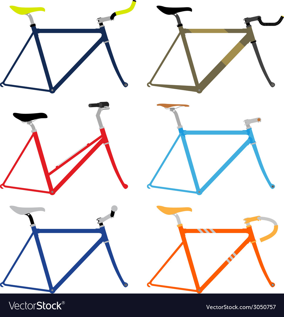 Bicycle frame vector | Price: 1 Credit (USD $1)