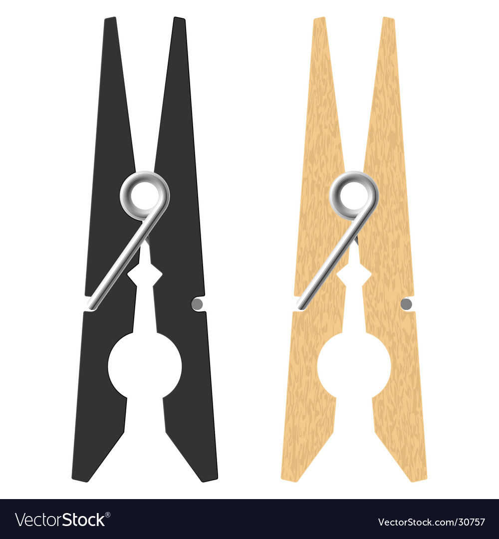 Clothes peg vector | Price: 1 Credit (USD $1)