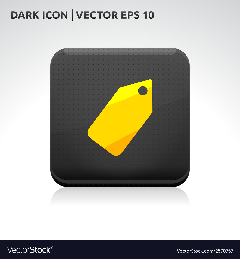 Sale label icon gold vector | Price: 1 Credit (USD $1)